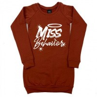 Foto van KMDB sweat dress miss behaviour