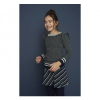 Foto van Looxs Knit with ruffles