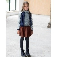 Foto van Flo plisse skirt rust