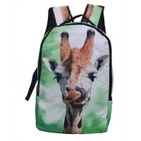 Foto van rugzak giraffe