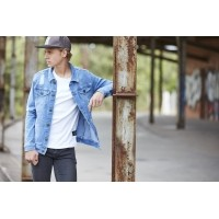 Foto van Hound denim ripped jacket
