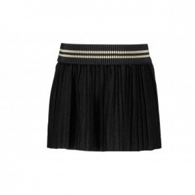 Flo plisse skirt black