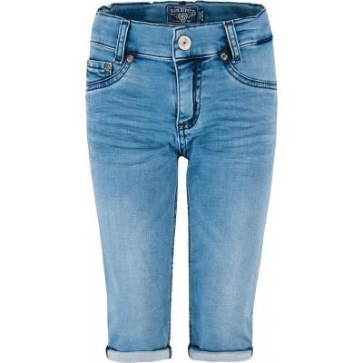 Blue effect capri jeans