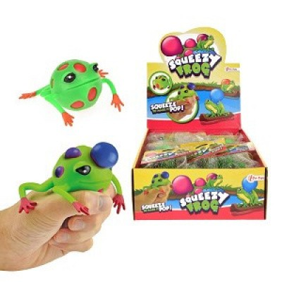 Squeezy frog