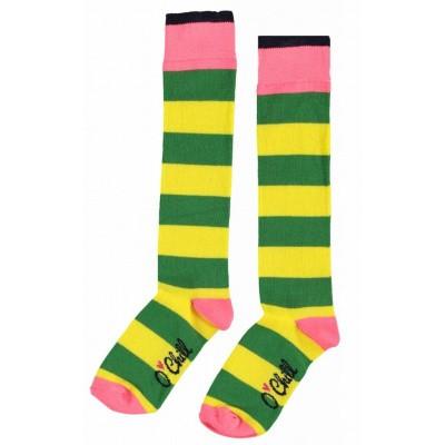 O'chill Sokken geel/groen