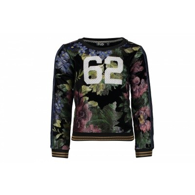 Flo Bik Flower Velours Sweater 62