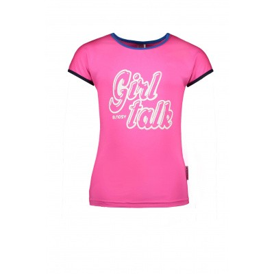 B-Nosy Girls shirt with contrast
