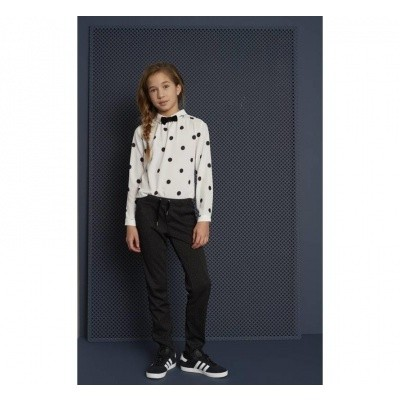 Looxs witte blouse dots