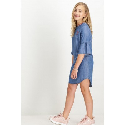 Garcia denimblauw jurkje