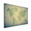 Wereldkaart Vervaagd Groentint