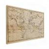 Wereldkaart Magnetische Curven