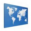Wereldkaart Wolken