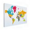 Wereldkaart Grote Landnamen