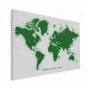 Wereldkaart Create A Green World