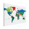 Wereldkaart Alle Landen