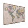 Wereldkaart Aardrijkskundig Terrein