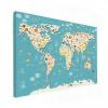 Wereldkaart Spot Alle Dieren