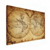 Wereldkaart Historisch Tweedelig