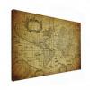 Wereldkaart Oude Zeekaart