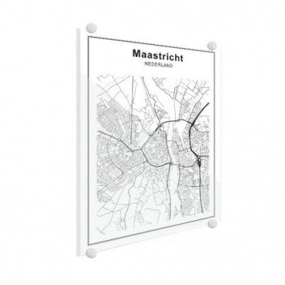 Stadskaart Maastricht - Plexiglas 50x70