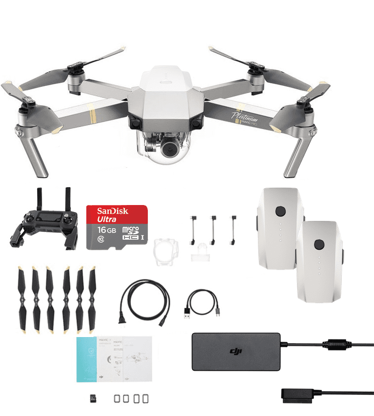 dji mavic pro platinum fly more light combo. Black Bedroom Furniture Sets. Home Design Ideas
