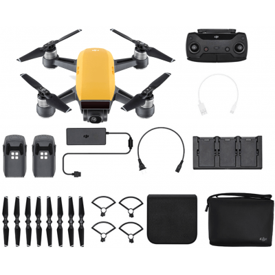Foto van DJI Spark Fly More Combo Sunrise Yellow