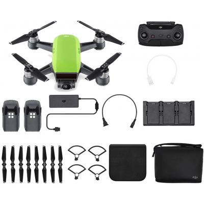 Foto van DJI Spark Fly More Combo Meadow Green