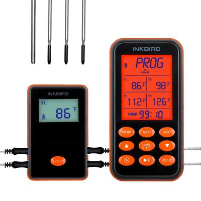 Foto van Inkbird IRF-4S Slimme Draadloze Vleesthermometer met LCD