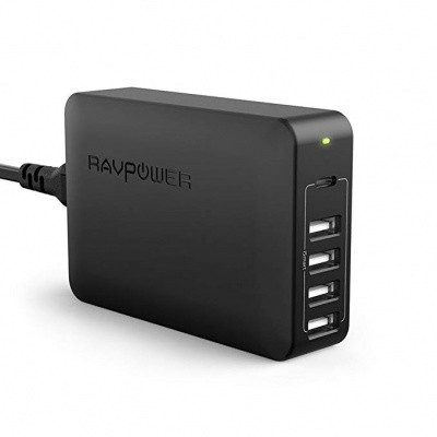 Foto van RAVPower Power Delivery Charger 60W 5-Port