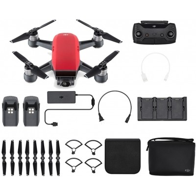 Foto van DJI Spark Fly More Combo Lava Red