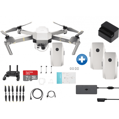 Foto van DJI Mavic Pro Platinum Hour Flight Pack