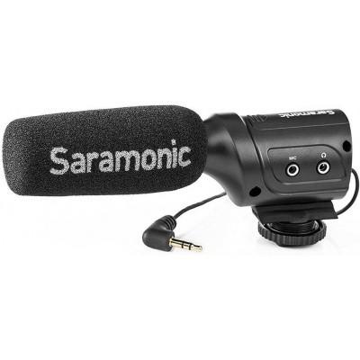 Foto van Saramonic Mini Condensator Richtmicrofoon SR-M3