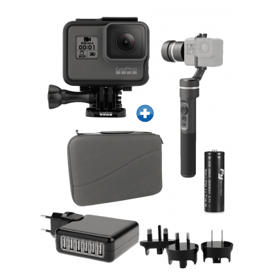 Foto van GoPro HERO 2018 Stabilizer Pack