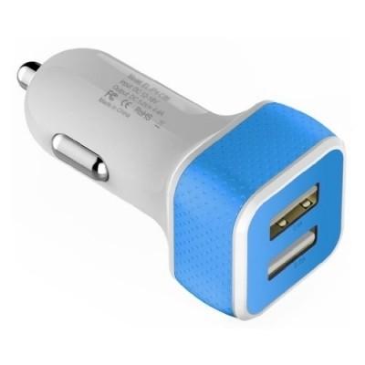 Foto van eXtreme Ways 2-Poorts USB-Autolader 4.4A Black