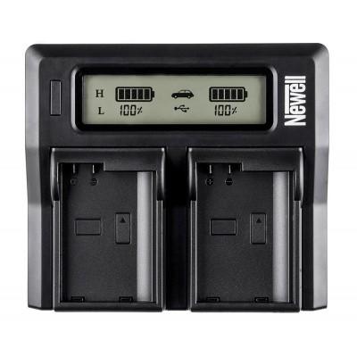 Afbeelding van Newell Dual Charger met LCD voor Nikon EN-EL15