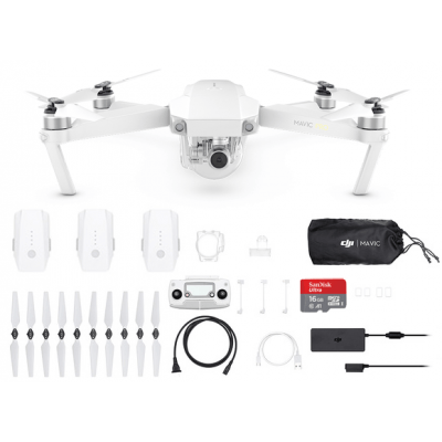 Foto van DJI Mavic Pro Alpine White Combo (Limited Edition)