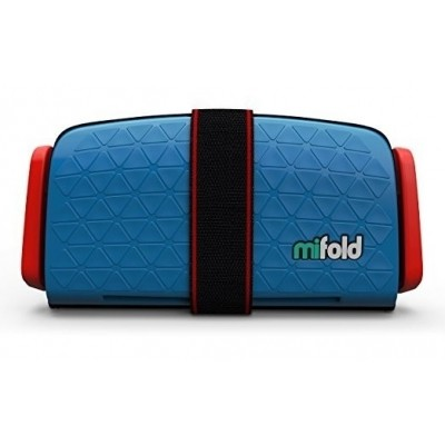 Afbeelding van mifold Grab-and-Go Booster Seat (Denim Blue)