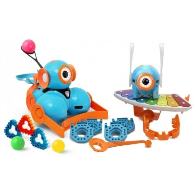 Afbeelding van Wonder Workshop Dash and Dot Robot Wonder Pack