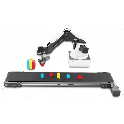Foto van Dobot Magician Conveyor Belt Kit