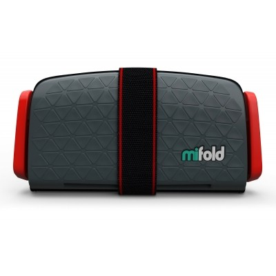 Foto van mifold Grab-and-Go Booster Seat (Slate Grey)