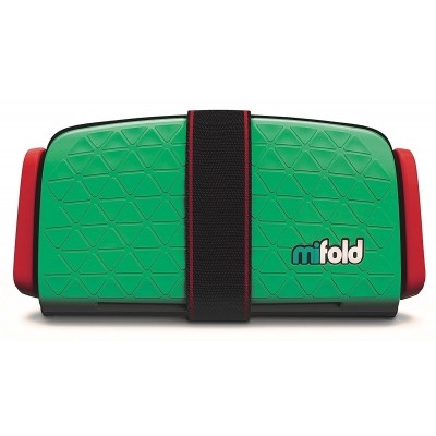 Foto van mifold Grab-and-Go Booster Seat (Lime Green)