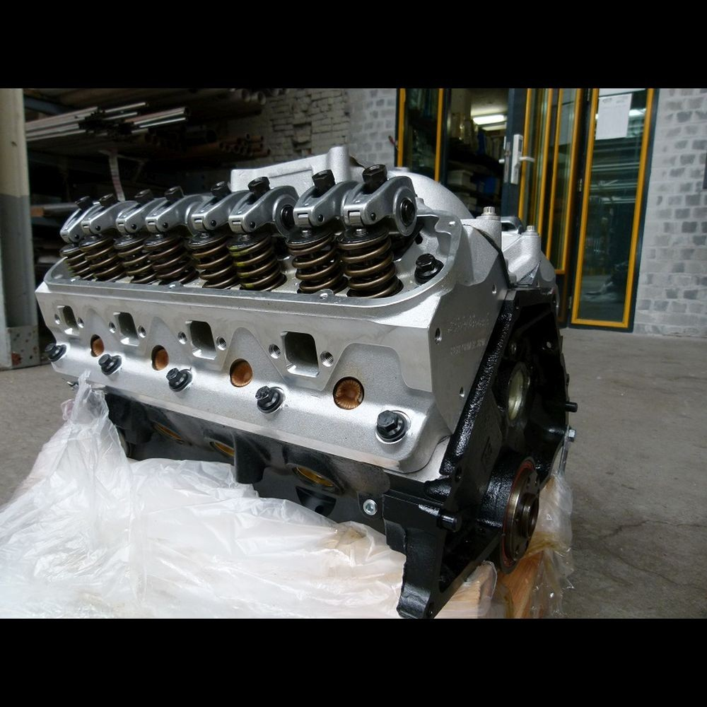 Gerev. Ford 302 Longblok + Edelbrock Top End Kit