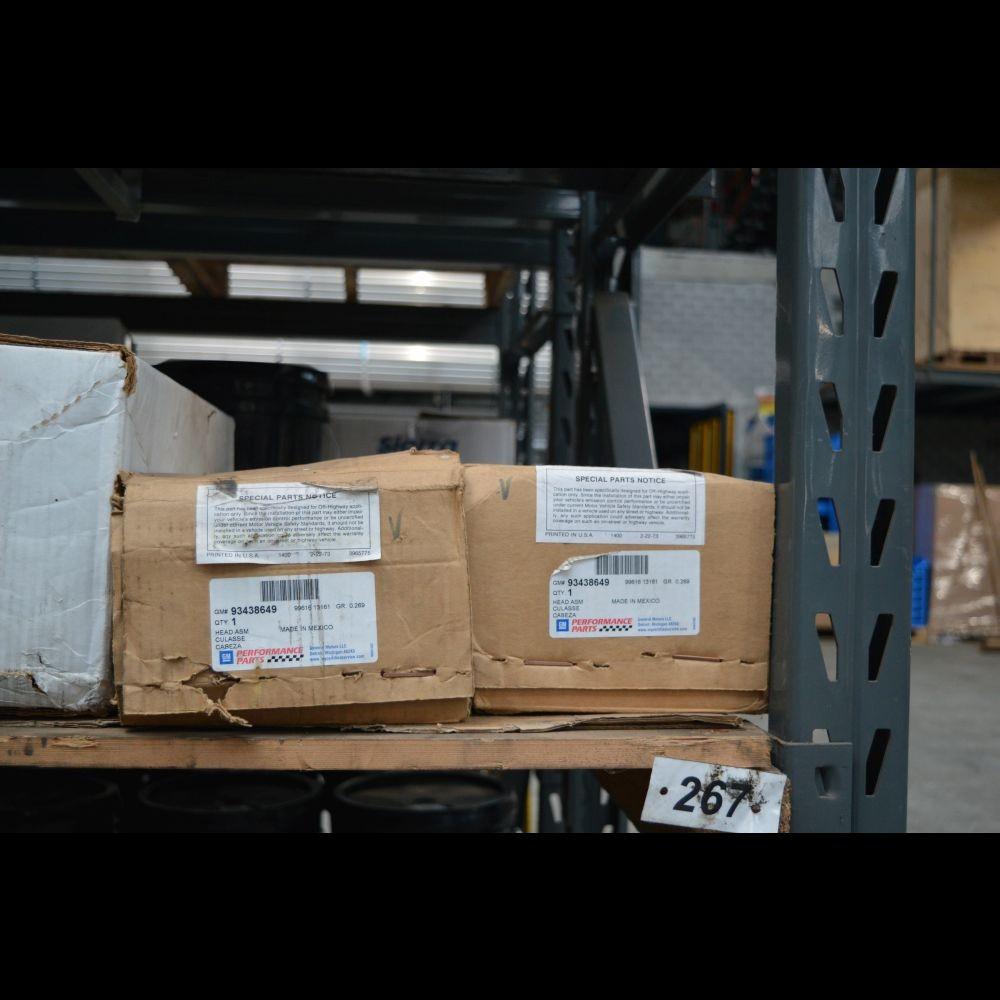 Gereviseerde Chevr. 350 6B kop + LPG 55-86