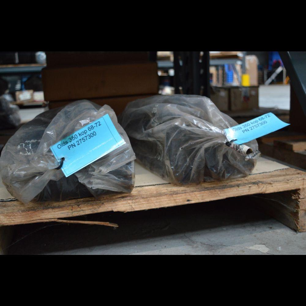 Gereviseerde Olds 350 kop + LPG 68-72