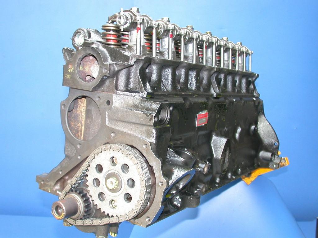 Gereviseerd Ford 200 L6 Longblok + LPG 66-67