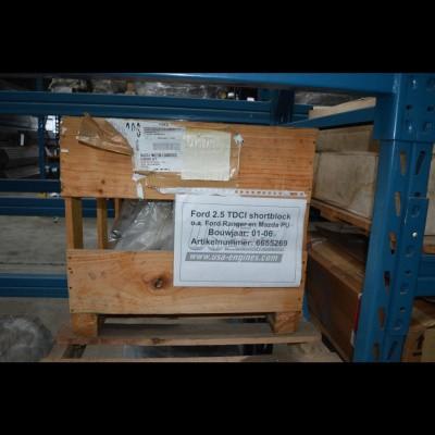 Gereviseerd Ford 2,5 TDCI Shortblok 01-06