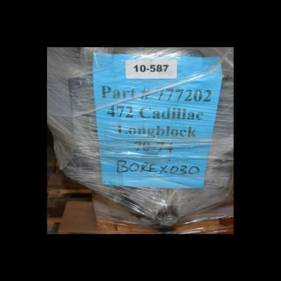 Gereviseerd Cadillac 472 Longblok + LPG 70-74