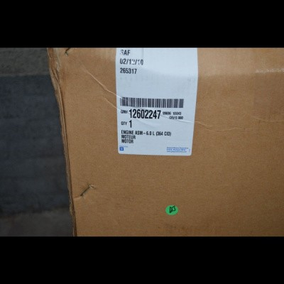 Nieuwe Chevr. 364/6,0 Productiemotor 09-10