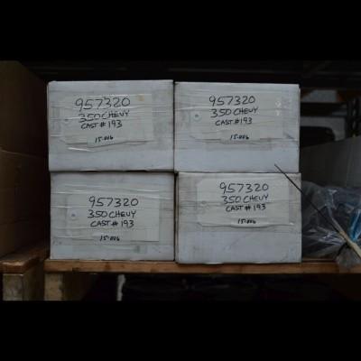 Gereviseerd Chevr. 350 kop + LPG 86-96
