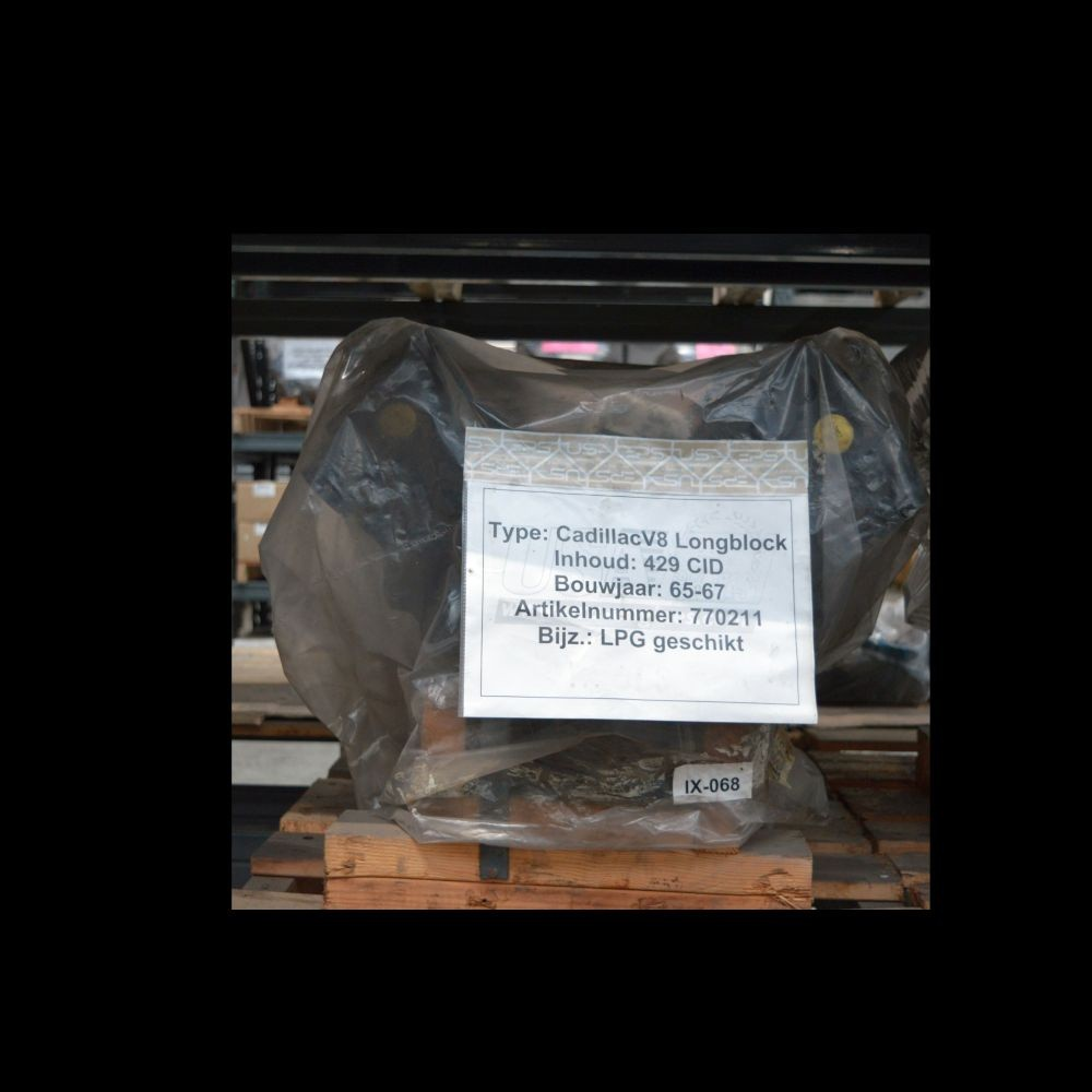 Gereviseerd Cadillac 429 Longblok + LPG 66-67
